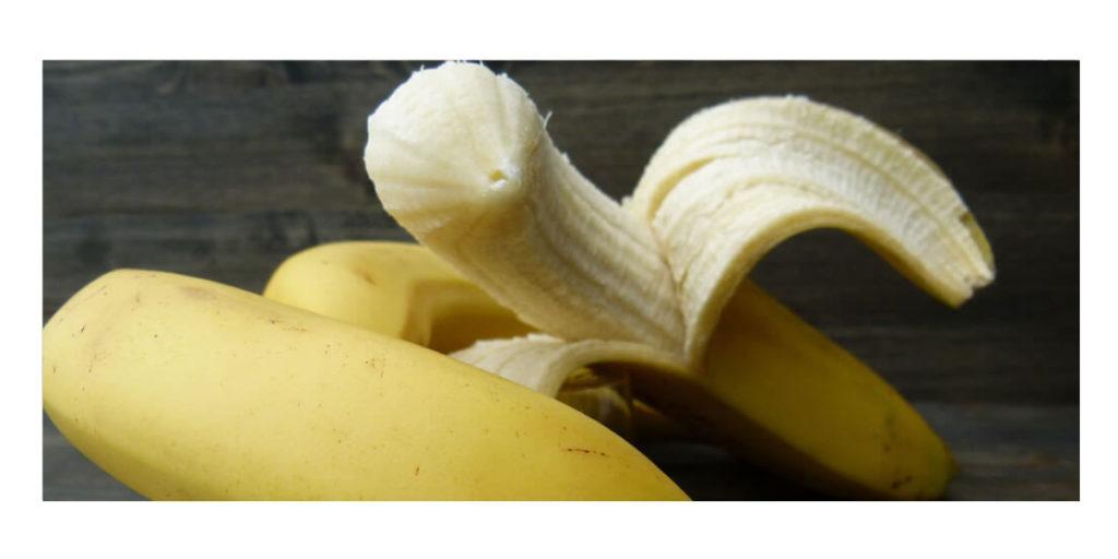 Banane mit viel Kalium
