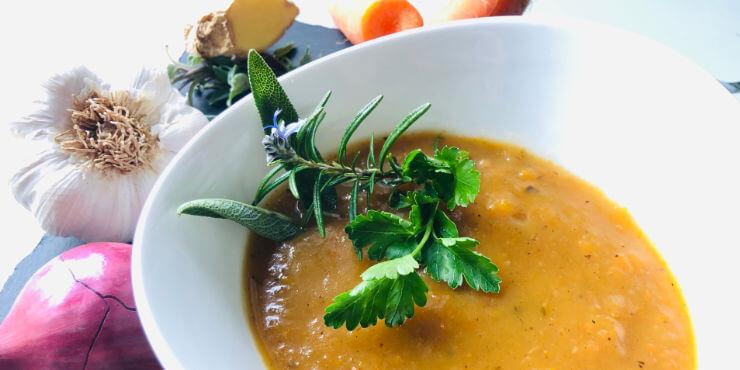 Basische Rezepte – Möhren-Kartoffel-Suppe