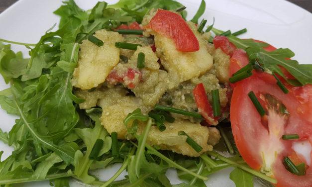 Basische Rezepte – Kartoffel-Rucola-Salat