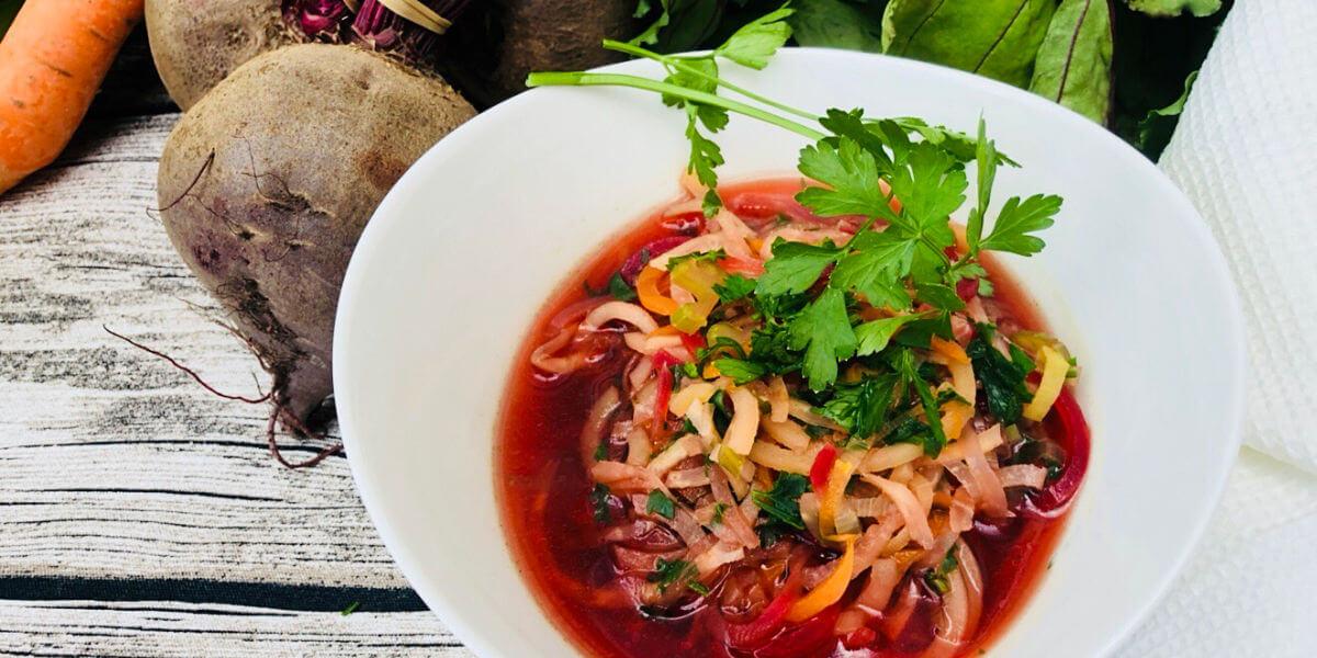 Basische Blitz-Gemüse-Suppe