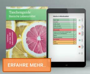 PDF – Taschenguide basische Lebensmittel