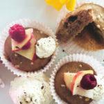 Muffins ohne Zucker mit Dinkel und Hafer